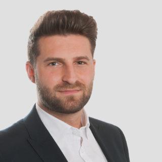 Sallier Immobilien Mitarbeiter Luca Schwalb Immobilienkaufmann Gewerbe