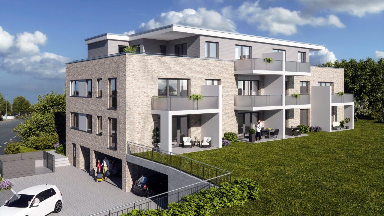 Bild Garten Bauprojekt TENWest in Lüneburg